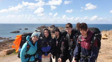 Students complete the DofE expedition