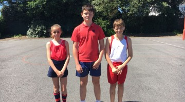 Three Grainville students are chosen to represent Jersey in the 2018 Athletics against Guernsey