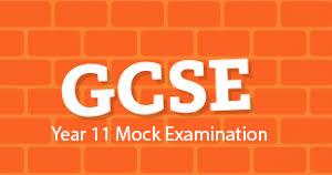 Year 11 Mock Exams 2020