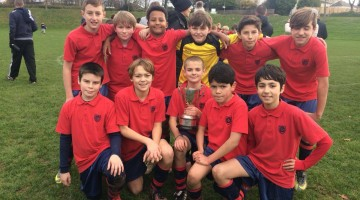 Grainville Year 7 : football champions 2017