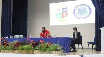 British & Ireland Lions – Question & Answer event at Grainville School