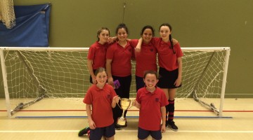 Year 7 Girls' 5-A-Side Football team