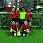 Grainville School's Year 7 Girls 5-A-Side football team traveled to Fareham, Southampton to compete in the ESFA Regional Finals.