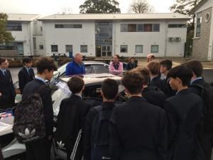 Y10 automotive students