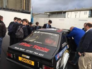 Y10 automotive students pic 2