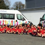 New school and community mini-bus