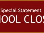 School closed Tuesday 26th March